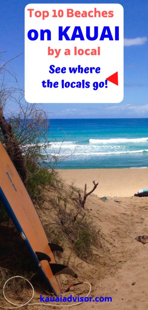 Top 10 beaches on Kauai