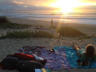 Polihale Sunset Kauai Camping