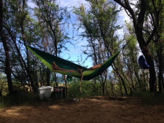 Hammock Camping on Kauai