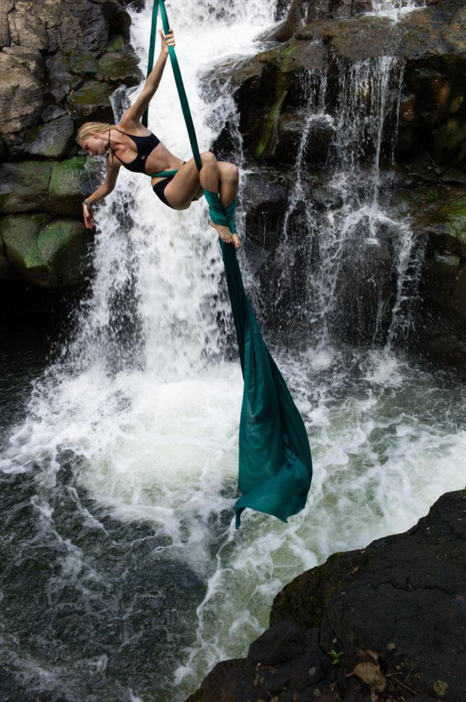 Ho'opi'i Falls Kauai Silking