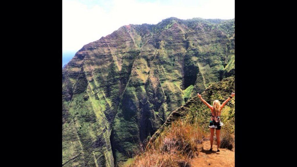 Great Hike on Kauai Honopu Ridge