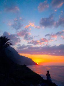 Beautiful Kauai Sunset