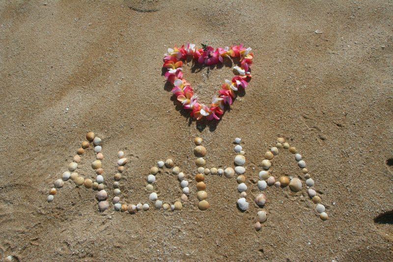 The Spirit of Hawaii Aloha and Sand