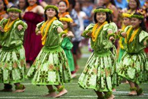 Leis and Hula Dancers