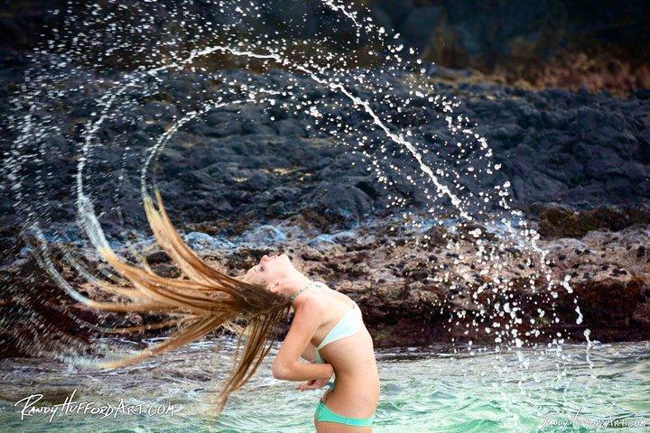 Kauai Style with the hair