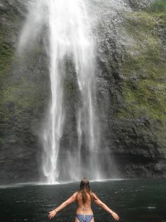 Hanakapiaia falls