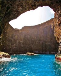 Go into the caves of the Na Pali