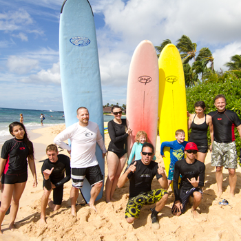 Poipu Surf School