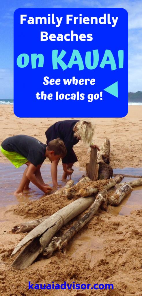 Family Friendly Beaches on Kauai