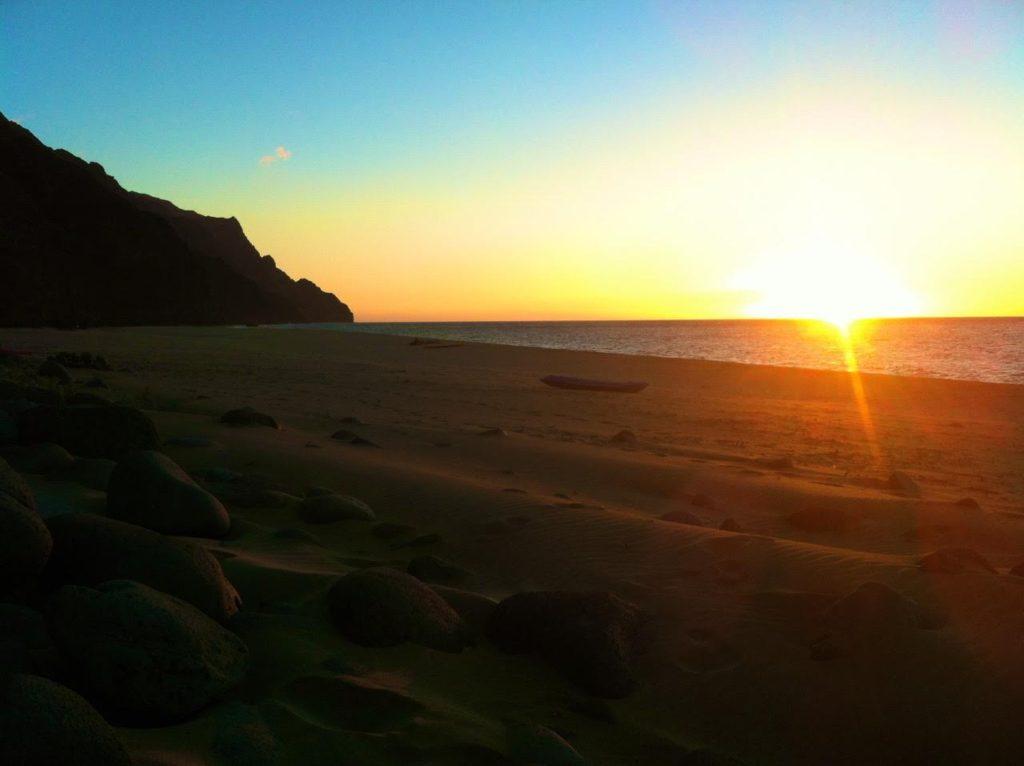 Kalalau Beach Sunset