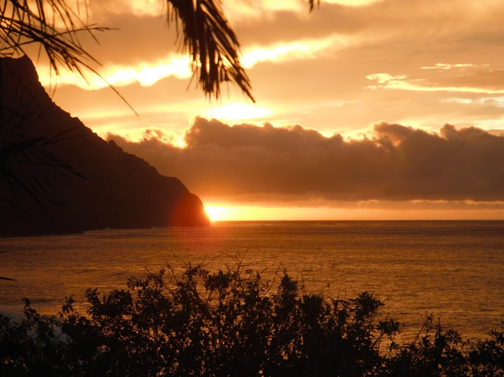 Kauai North Shore Sunset