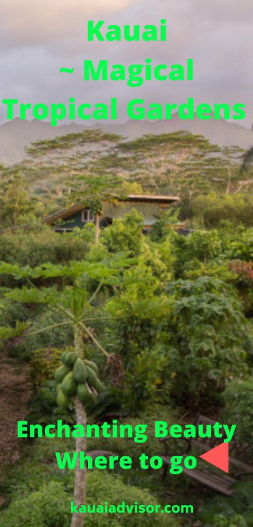 Kauai Tropical Gardens