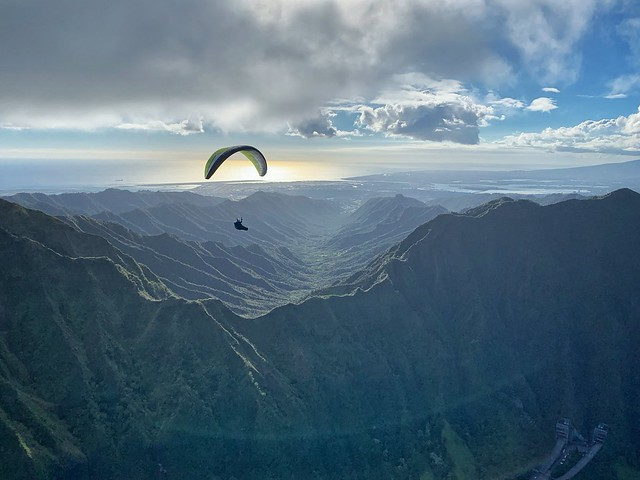 Paragliding Hawaii