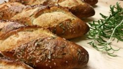 Rosemary & Sea Salt baguette