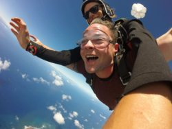 Sky Diving over Kauai