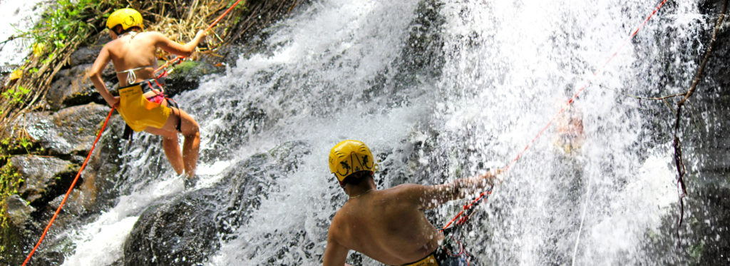 Water Rappelling Extreme Adventure