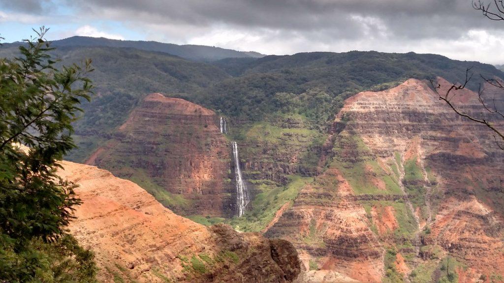 Waipo'o Falls Kauai