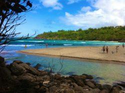Magical Kauai beach