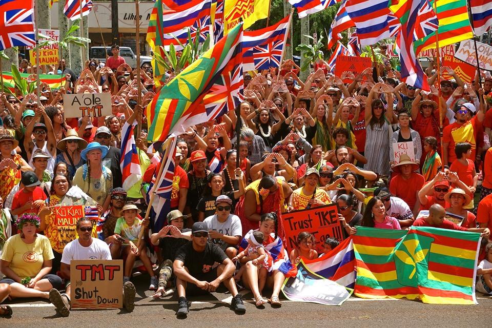 Mauna Kea Kia'i Supporters