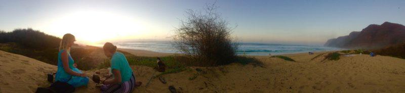 Polihale Sunset Kauai