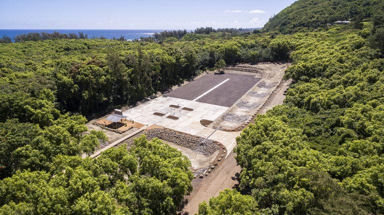 Ke'e beach parking Kauai