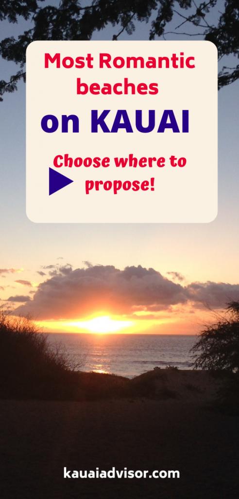 Most Romantic Beaches on Kauai